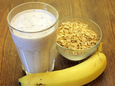 protein 1 cup oatmeal oatmeal banana protein shake recipe and nutrition eat