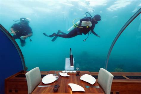 ithaa undersea restaurant prices ithaa first underwater restaurant will take your breath away