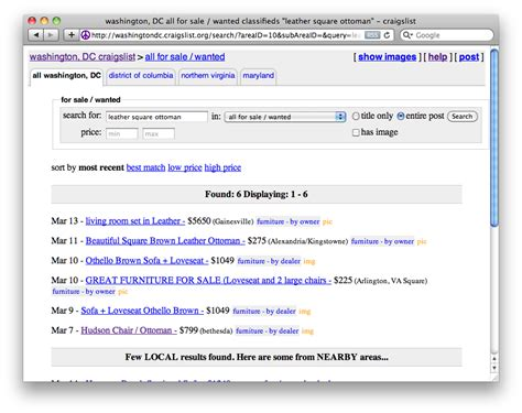 Craigslist Email Search Craigslist Searches Delivered To Your Inbox Matt Kaar