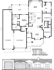 Two Bedroom Rv Floor Plans Sunset Homes Of Arizona Home Floor Plans Custom Builder Rv