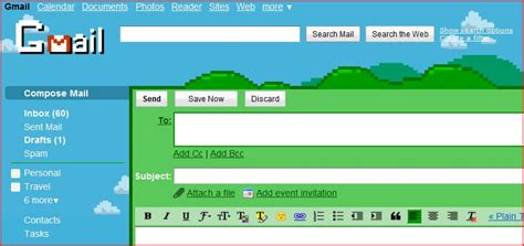 gmail themes cool gmail your social media konnection