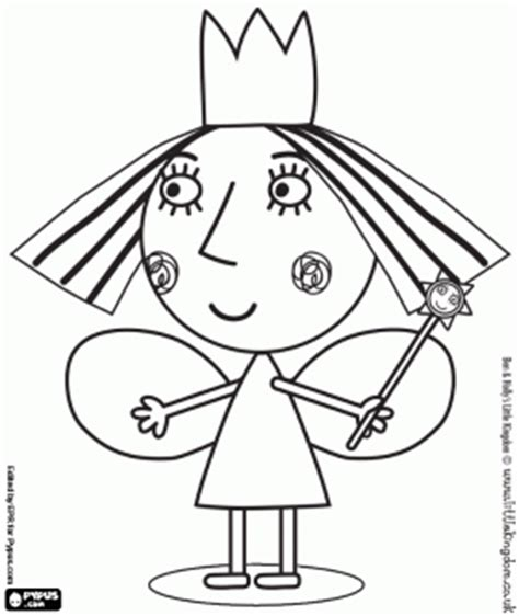 princess holly coloring page ben y holly colorear buscar con google coloring pages