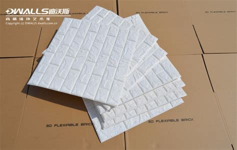 Foam Bricks 3d Korea wholesale korean style pe foam 3d brick self adhesive