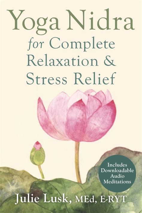 guiding nidra the of conscious relaxation teaching maha books nidra for complete relaxation stress relief