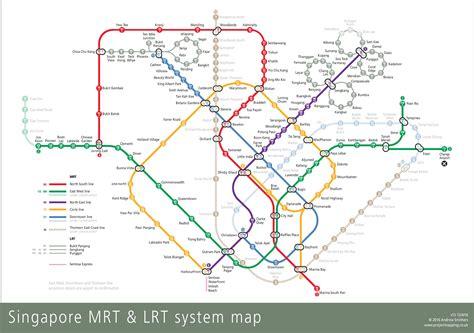 singapore mrt map singapore mrt map