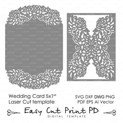 lace templates card wedding invitation pattern card 57 template by