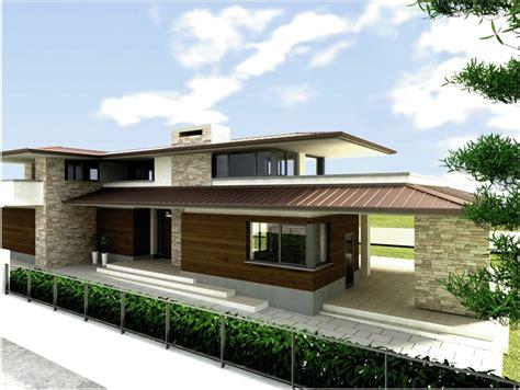Unifamiliari Architettura foto progetto per una villa unifamiliare di studio di