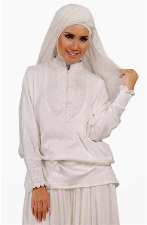Dress Trendy Dress White Ak Dress Wanita Baloteli Putih 36 best images about busana muslim bagus on models sharks and polos
