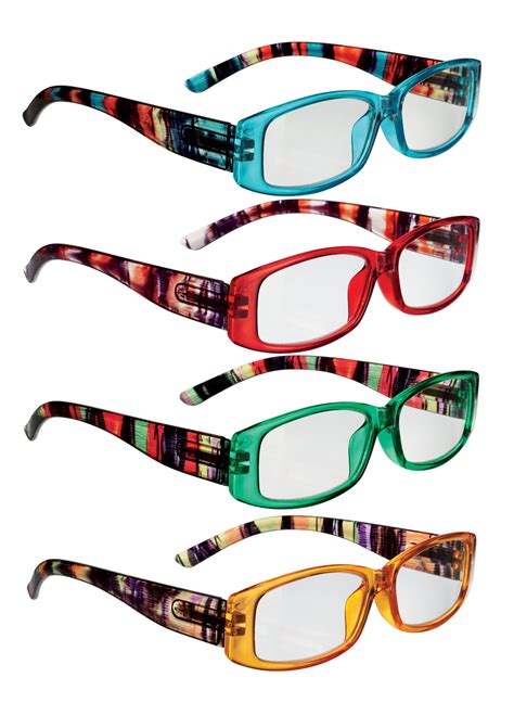 colorful glasses colorful reading glasses carolwrightgifts