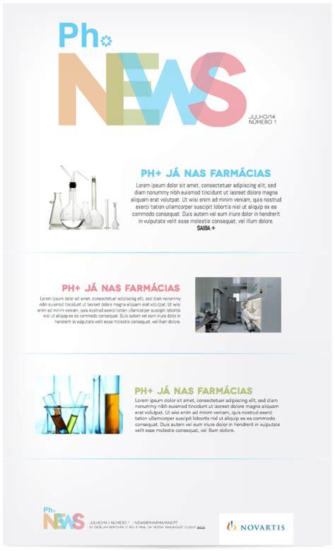 newsletter templates pharmaceutical company behance