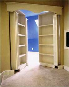hidden room hidden room entrance to upstairs of master bedroom with