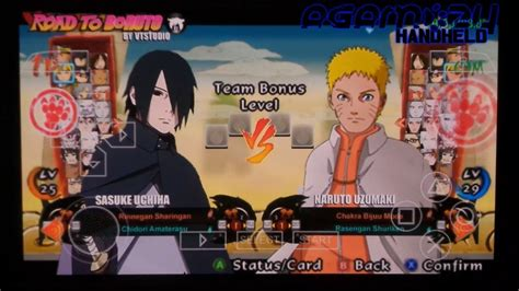 boruto ppsspp psp ppsspp naruto shippuden ultimate ninja strom 4 road