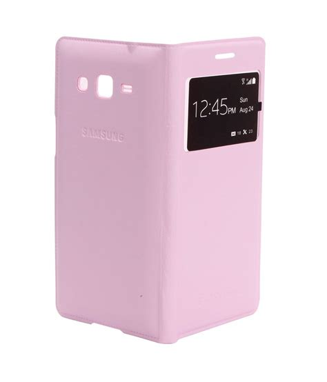 Flip Cover View Samsung Galaxy Grand edge s view flip cover for samsung galaxy grand 2 g7102 light pink buy edge s view flip