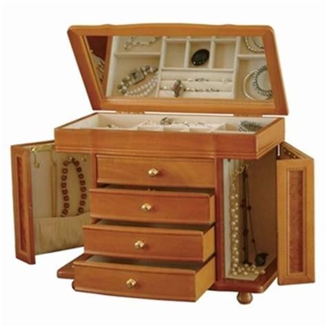 large jewelry boxes armoires large oak josephine jewelry box
