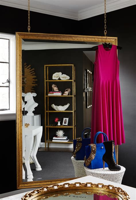 walk in the room in gold tour this amazing fashion s transitional home office shoproomideas