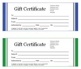 Gift Certificate Template Free Printable by Free Printable Gift Certificate Templates Search Results