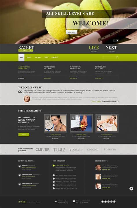 Joomla Design Vorlage joomla vorlage 52315 f 252 r tennis