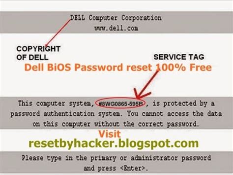 reset bios user password dell bios password get your dell laptop administrator