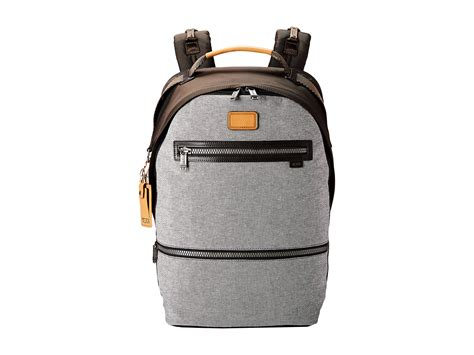 Tumi Backpacker 1 lyst tumi alpha bravo cannon backpack in gray