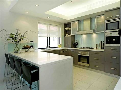 u shaped kitchen floor plans home interior design