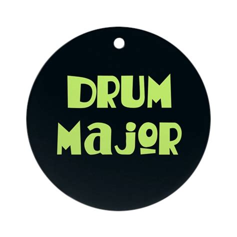 drum major christmas ornament by milestonesmusic