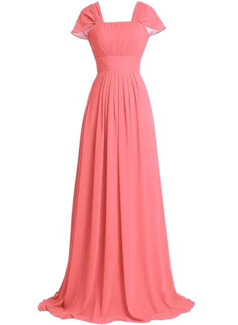 ruffled design maxi prom dress oasap