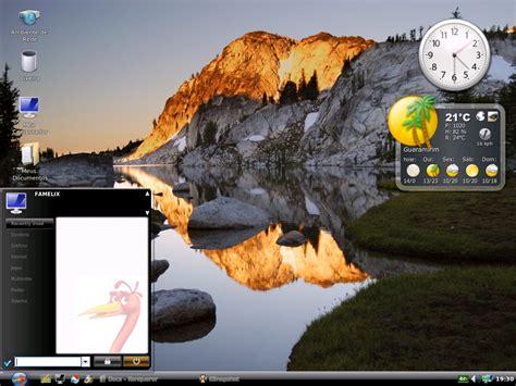 escritorio xp bh vers 245 es do linux telecentros bh cidadania pbh
