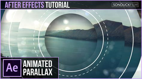 after effect architecture tutorial after effects tutorial geometric photo parallax sonduckfilm