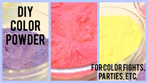 color fight diy color powder color fights etc