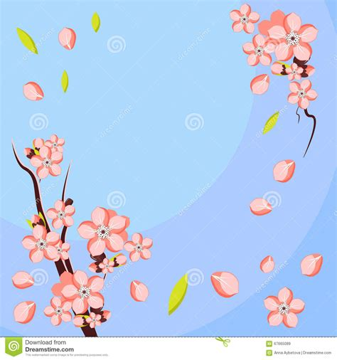 Almonds Meaning Card Templates by Almond Or Apricot Flower Branch Template For Greeting