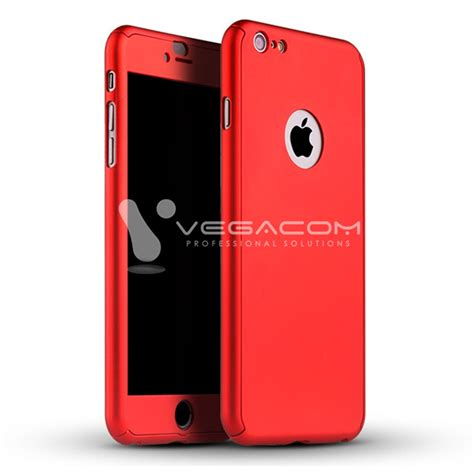 Paket 360 Iphone 6 6s Hybrid Tempered Glass Berkualitas cover 360 hybrid iphone 6 6s tempered glass 55095 vegacom