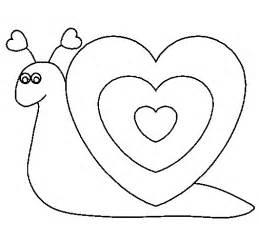 dibujo caracol coraz 243 colorear dibujos net