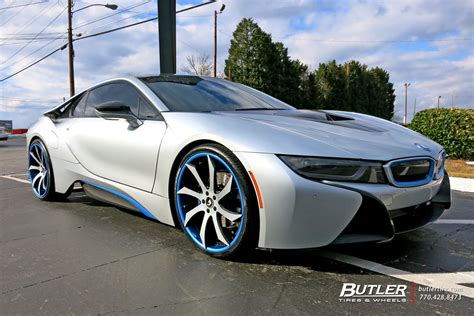 bmw i8 modified bmw i8 custom wheels forgiato fondare ecl 22x et tire