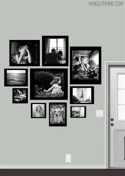 wall photo layout design top 8 ideas about picture wall on pinterest photo frame