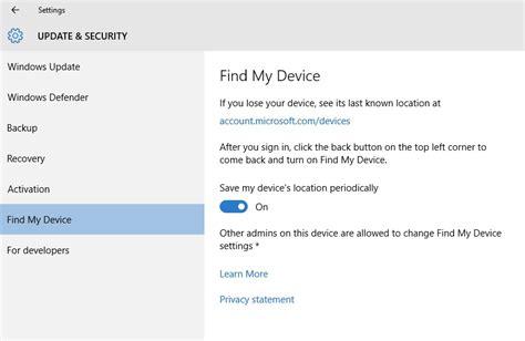 Find My Device Windows 10 Build 10558 Einige Sehr Interessante Neuerungen