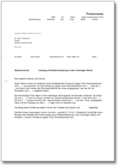 Antrag Brief Schreiben dehoga shop widerspr 252 che kaufen