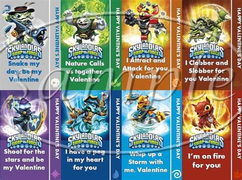 skylanders valentines 89 best images about s day on