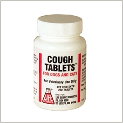 cough medicine for dogs medications cough tablets 250 tablets