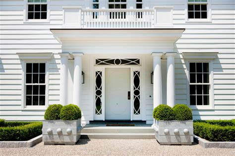 portico design modern colonial traditional entry new york by