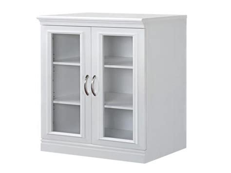 Interior Media Cabinets With Glass Doors Table Top Media Storage Cabinet With Glass Doors