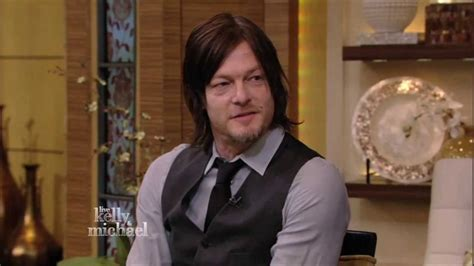 live with kelly michael norman reedus on live with kelly and michael youtube