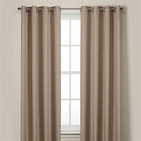 bed bath and beyond curtain rockport blackout grommet window curtain panels bed bath