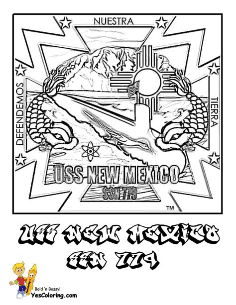 pin nm state coloring page on pinterest