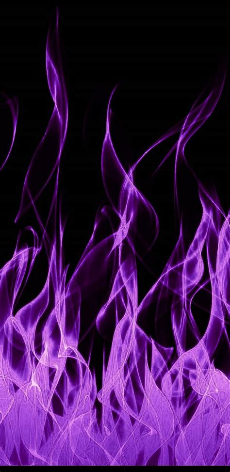purple flames wallpaper  darkwolfgaming