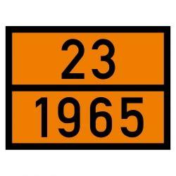 Gefahrgut Aufkleber Kaufen by Gefahrgut Warntafel Mit 23 1965 Aufkleber Shop