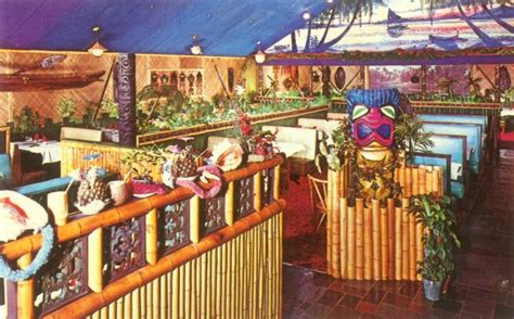 tiki hut kansas city polynesian murals and dioramas vintage other tiki