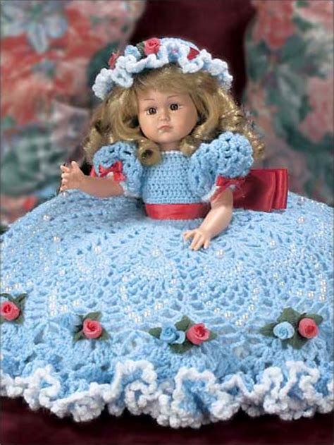 bed dolls crochet dolls toys bed doll patterns pineapple bed
