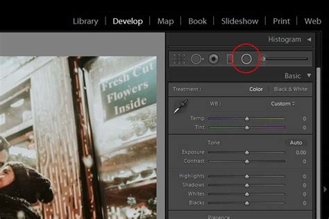 lightroom tutorial radial filter editing a photo with the radial filter in adobe lightroom
