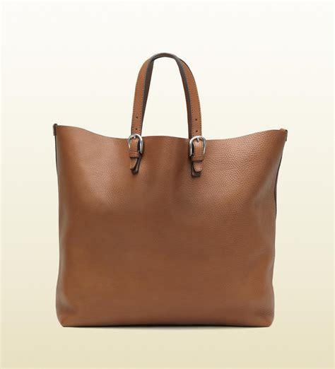 gucci men soft tote bag cuir color leather men s bags