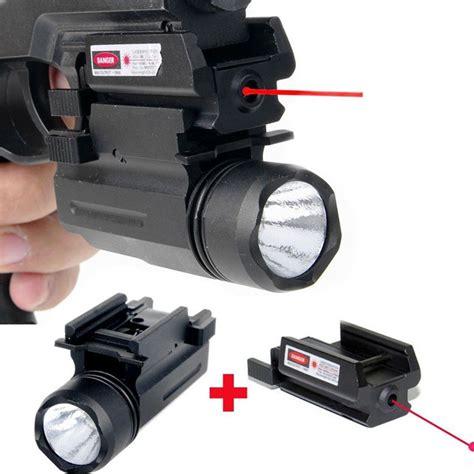 red dot laser light combo tactical tactical red dot laser sight led flashlight